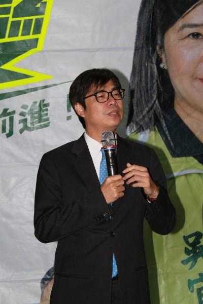 陳其邁呼籲馬政府,應該讓扁保外就醫並居家治療。(資料照,記者鄭鴻達攝)