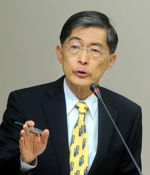 魏國彥留任環保署長。(資料照,記者方賓照攝)