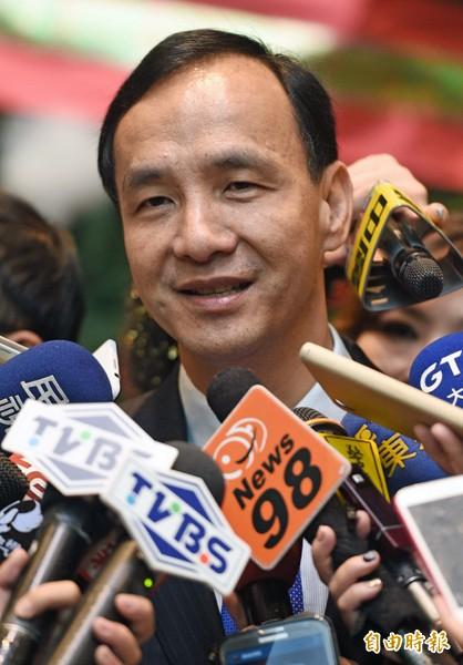 新北市長朱立倫。(資料照,記者王敏為攝)