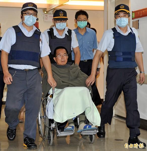 前總統陳水扁(中)。(資料照,記者簡榮豐攝)