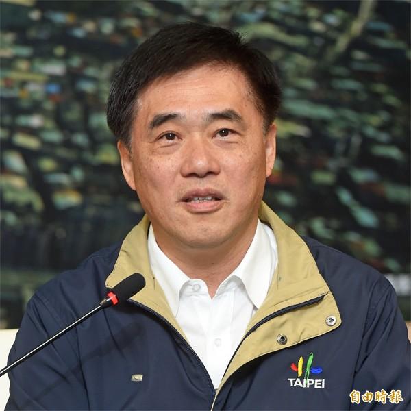 國民黨副主席、台北市長郝龍斌。(資料照,記者簡榮豐攝)