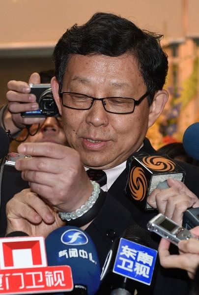 中國海協會會長陳德銘臨時取消與柯文哲的會面,下午跟國民黨榮譽主席連戰見面。(資料照,記者簡榮豐攝)