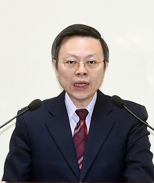 國民黨17日舉行中常會,邀請陸委會主委王郁琦做專案報告。(記者方賓照攝)