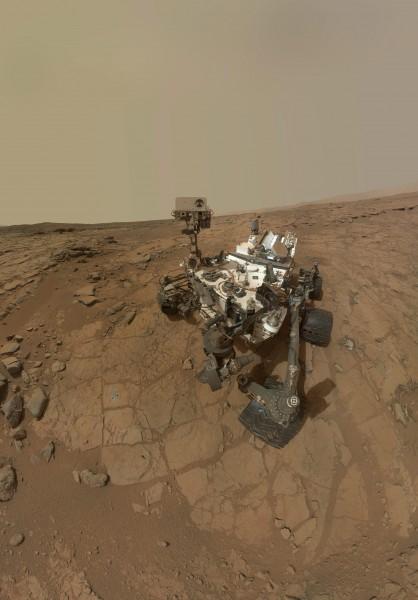 好奇號在火星探測到的甲烷量一度飆升後消失,讓科學家相當困惑,但也重燃探索生命跡象的期盼。(歐新社)