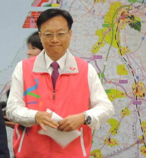 即將卸任彰化縣長的卓伯源,將代表國民黨參選彰化第4選區立委補選。(資料照,記者吳為恭攝)