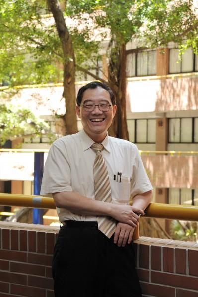 梁定澎獲頒代表終身傑出成就的「Leo Award」,是第一位得到此殊榮的華人。(中山大學提供)