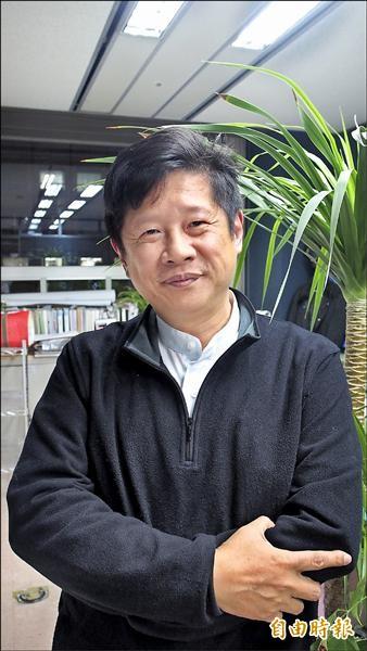準台北市產業發展局長林崇傑。(記者蔡亞樺攝)