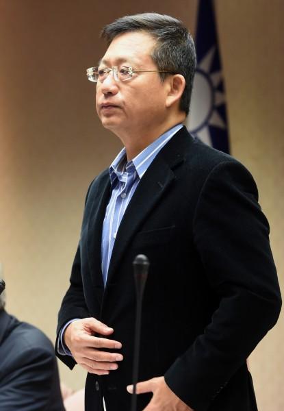吳育昇表示,只要警政署長力挺,直轄市長沒有權力也沒資格換人。(資料照,記者羅沛德攝)