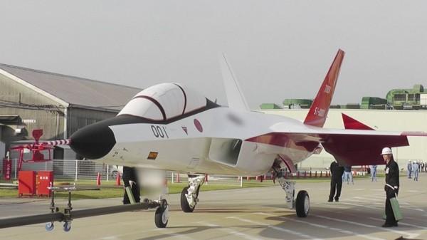 日本最新隱形戰機「心神」,將於明年1月中正式試飛。(擷取自日本防衛省技術研究本部)