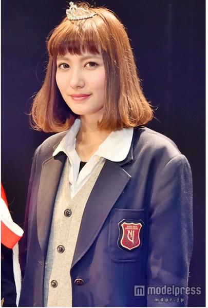 「關西最可愛高中女生」第2名金城絢香。(圖片擷取自《modelpress》網站)