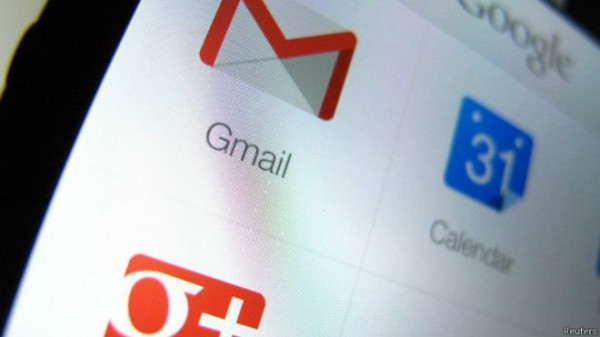中國自耶誕節後封鎖谷歌(Google)電子郵件Gmail,許多使用Gmail的中國網友無法從自己電郵客戶端收發郵件,讓網友大表不滿。(圖擷取自BBC中文網)