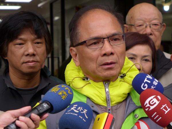 前行政院長游錫堃表示,期待扁明天順利保外就醫,也希望台灣不會再有總統被關。(資料照,記者李雅雯攝)