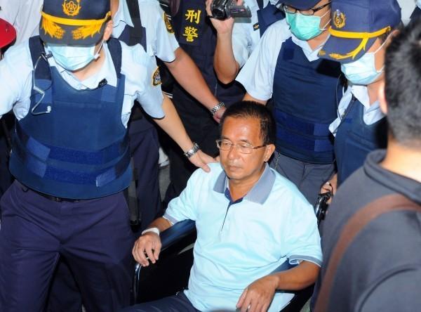 有知情人士表示,阿扁明天出監「應是沒有問題」,民進黨團總召柯建銘昨天也證實,法務部同意扁與群眾打招呼。(資料照,記者王敏為攝)