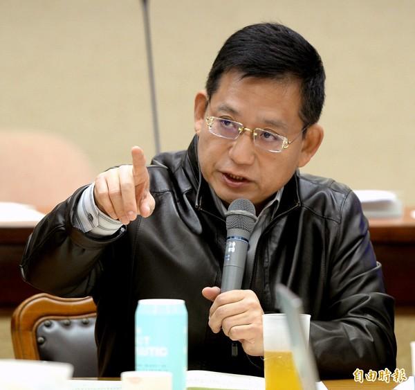 國民黨內政委員會召委吳育昇。(資料照,記者林正堃攝)