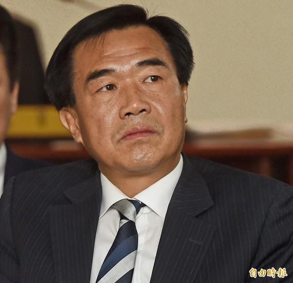 台南市議會議長李全教。(記者簡榮豐攝)