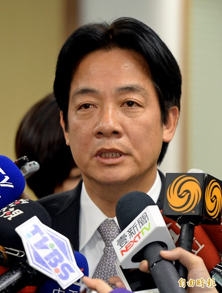 台南市長賴清德。(記者林正堃攝)