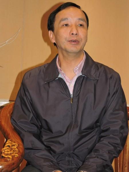新北市長朱立倫稱,台南市長賴清德對他的指控是抹黑,不願評論。(資料照,記者賴筱桐攝)