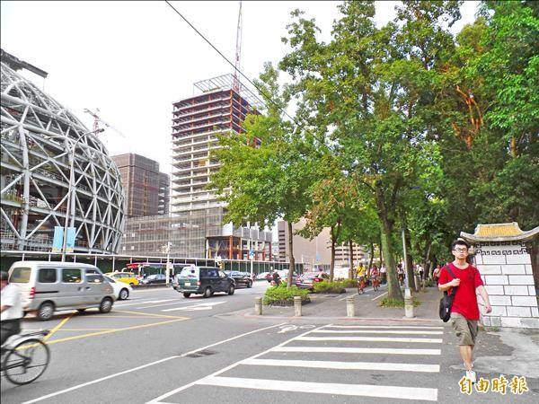 大巨蛋將開闢地下聯通道,並在對街的國父紀館園區左右兩側設出入口,共計要移植37棵樹木,民間團體昨天要求柯市府,討論樹木原地保留前,先徹查相關弊案。(資料照,記者郭安家攝)