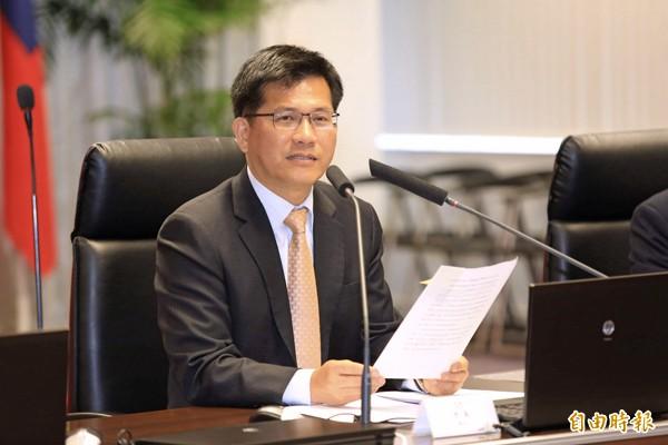 台中市長林佳龍。(資料照,記者唐在馨攝)