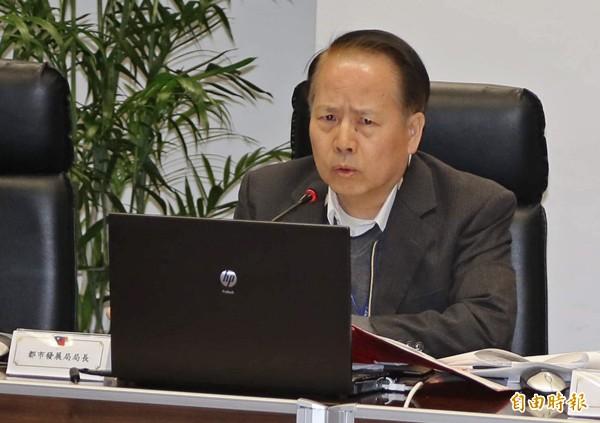 前台中市府都發局長沐桂新。(資料照,記者唐在馨攝)
