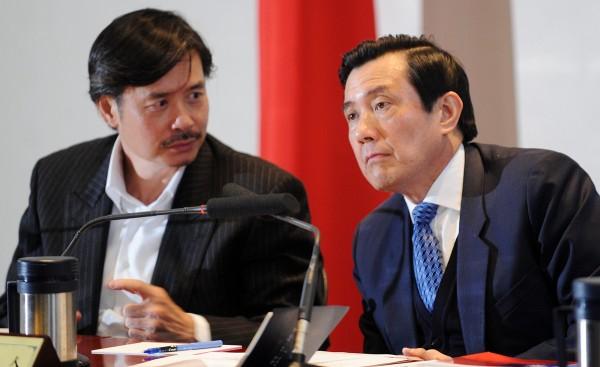 網路媒體報導,國安會秘書長金溥聰卻認為現階段的任務,就是如何讓馬英九平安卸任。(資料照,記者羅沛德攝)