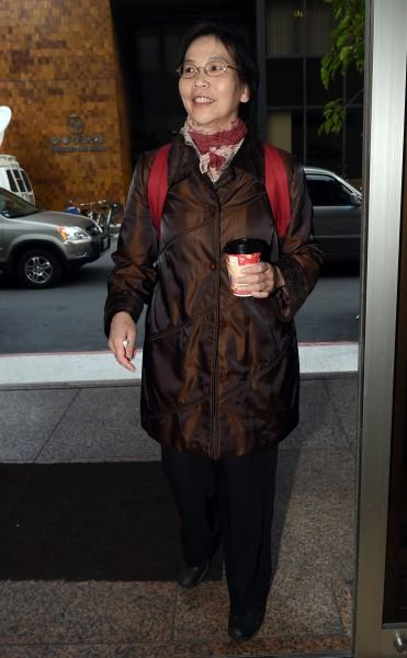 台北市長辦公室主任蔡壁如,將柯氏管理精神」從台大醫院帶進了北市府。(資料照,記者羅沛德攝)