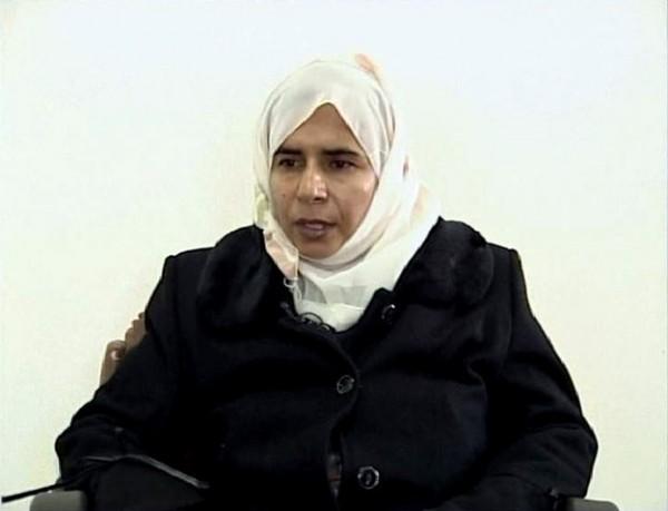女炸彈客李夏維(Sajida al-Rishawi)在2005年時參與策劃約旦高級飯店的炸彈攻擊,當時摧毀了一場婚禮造成多人死亡。(圖片擷取自BuzzFeed News)