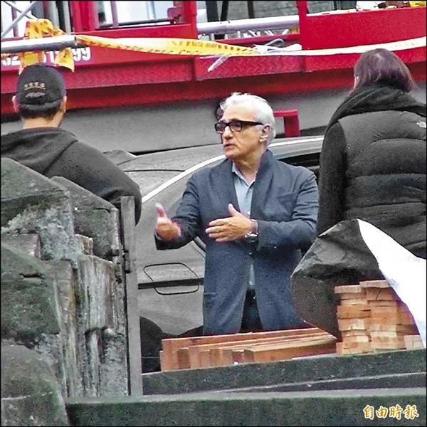 好萊塢大導演馬丁史柯西斯(Martin Scorsese)今年一月時曾現身中影文化城勘景。(資料照,記者陳逸寬攝)