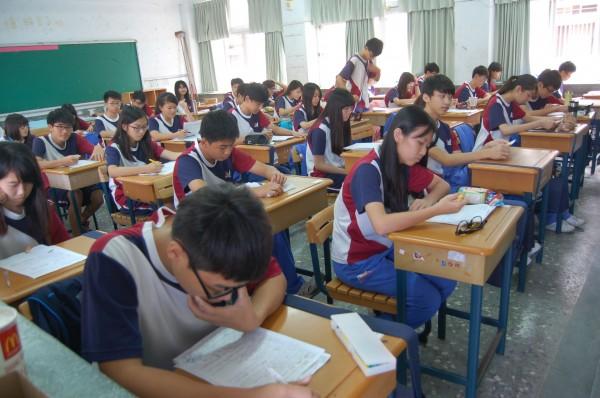大學學測將於2月1、2日登場。(資料照,記者陳燦坤攝)