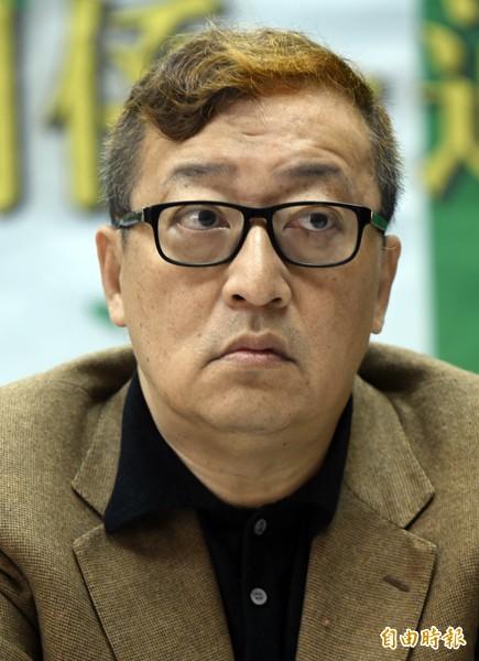 台大經濟系教授林向愷。(記者劉信德攝)