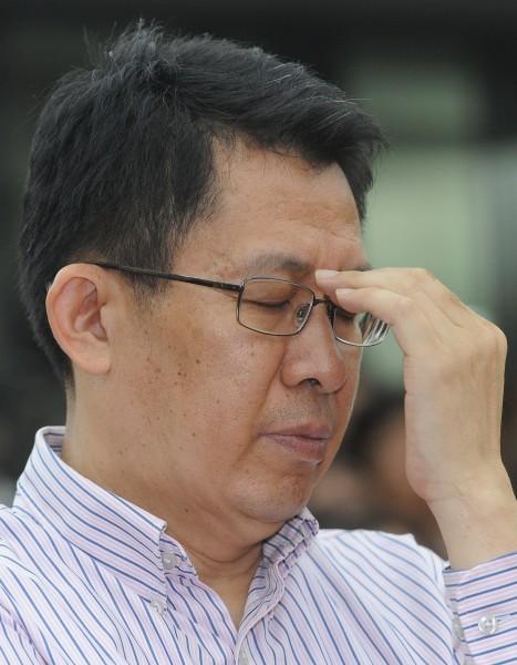 前教育部長蔣偉寧涉嫌違反學術倫理論文造假一案,下午將作出裁決,蔣偉寧恐難逃懲處。(資料照,記者劉信德攝)