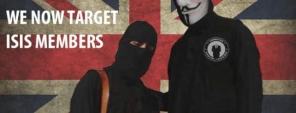 駭客組織「匿名者」對恐怖分子ISIS發出「獵殺宣言」。(圖擷取自We Are Anonymous)