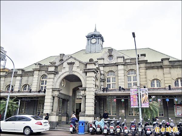台鐵新竹車站將與東京車站締結姐妹站,週四將舉辦簽約儀式。(記者洪美秀攝)