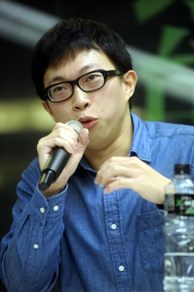 太陽花學運領袖魏揚被起訴,他認為反服貿是一種人民的抵抗運動,因此人民應當無罪。(資料照,記者趙世勳攝)