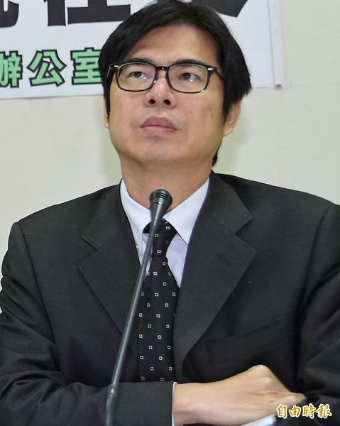 民進黨立委陳其邁。(資料照,記者劉信德攝)