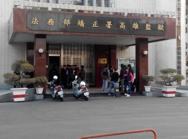 高雄市警察局長陳家欽和市刑大隊長林炎田到場指揮。(記者黃佳琳攝)