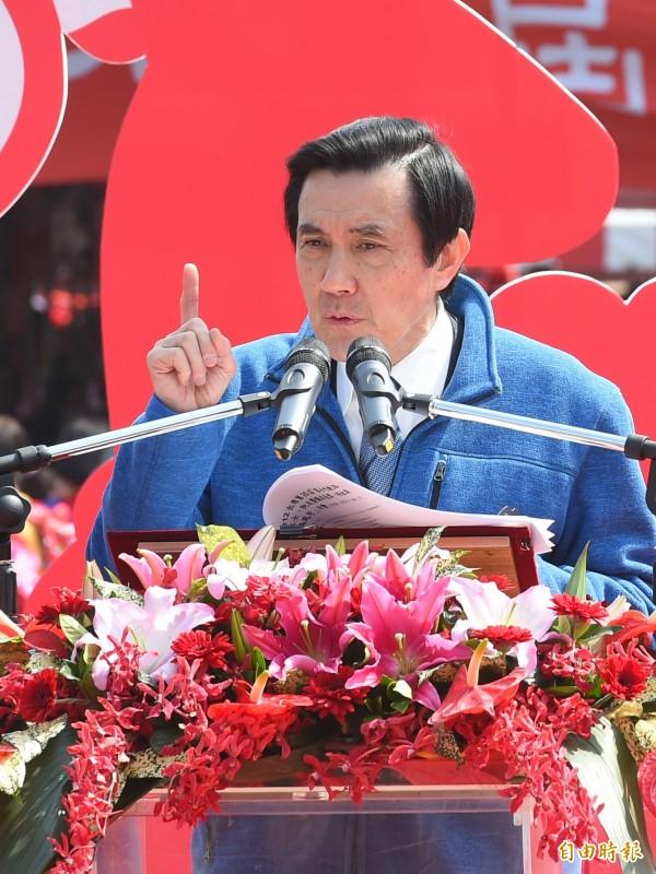 馬英九今天接受訪問時,對於王金平撤銷黨籍案仍有所堅持。(資料照,記者張嘉明攝)