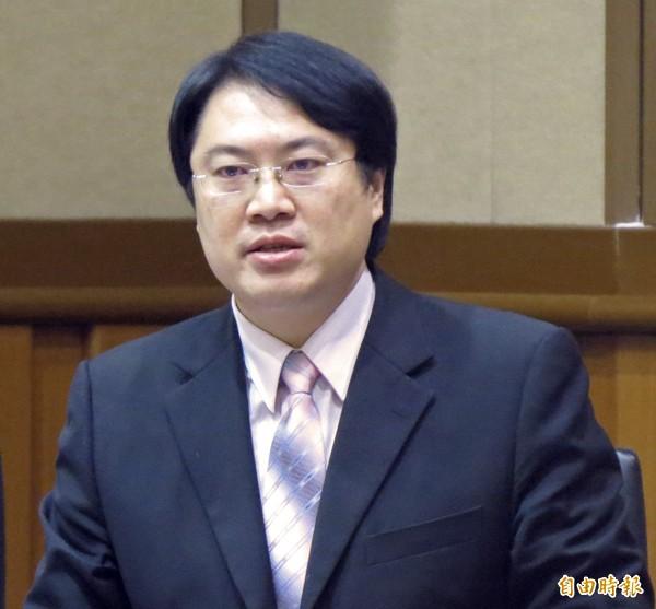 基隆市長林右昌。(資料照,記者俞肇福攝)