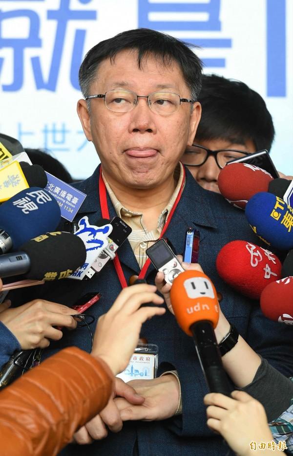 國民黨立委蔡正元表示,「戴小姐」是經過查證的事實,台北市長柯文哲心裡有數。(記者張嘉明攝)