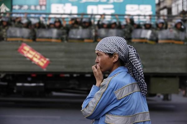 新疆維吾爾自治區人民和中國政府的對立越來越激烈。(路透)