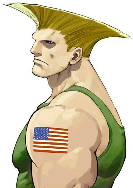 電玩人物凱爾是《快打旋風》受歡迎的角色。(圖擷取自網路)