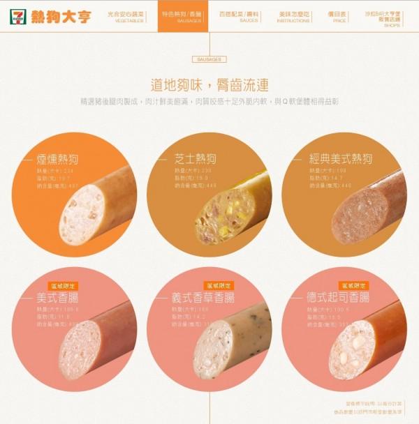 國內超商龍頭統一超商(7-11)所推出的熟食商品「大亨堡」,本月初因為熱狗口味更換,現在全系列的熱狗價格都已從25元更改為30元,加上麵包的大亨堡,一份則要40元。(照片擷自7-11官網)