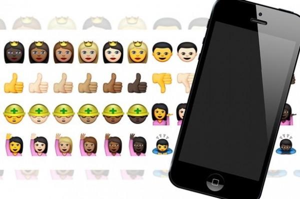 iPhone即將推出反歧視的表情符號。(圖擷取自《鏡報》)