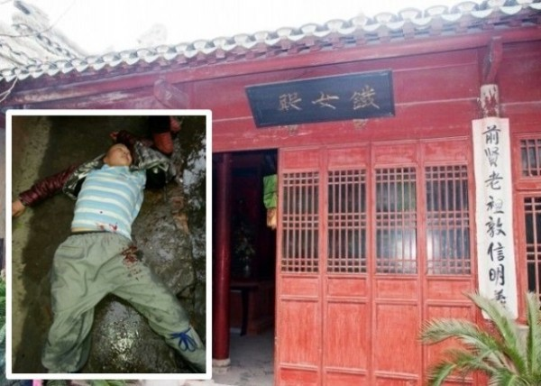 千年古寺鐵女寺爆發住持之爭,其中一名女法師遭毆打昏迷。(圖片擷取自網路)