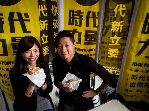 繼宣布參與立委選舉,Freddy及洪慈庸今日在台中分享參政的心路歷程。(圖擷自臉書專頁)