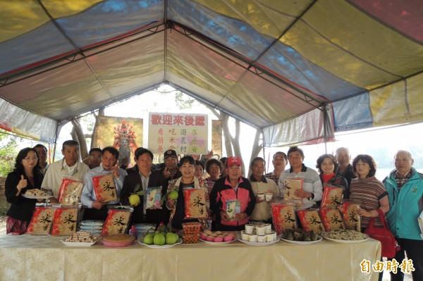 後壁區各界邀民眾到後壁看蘭展、吃米食、遊農村、求平安。(記者劉婉君攝)