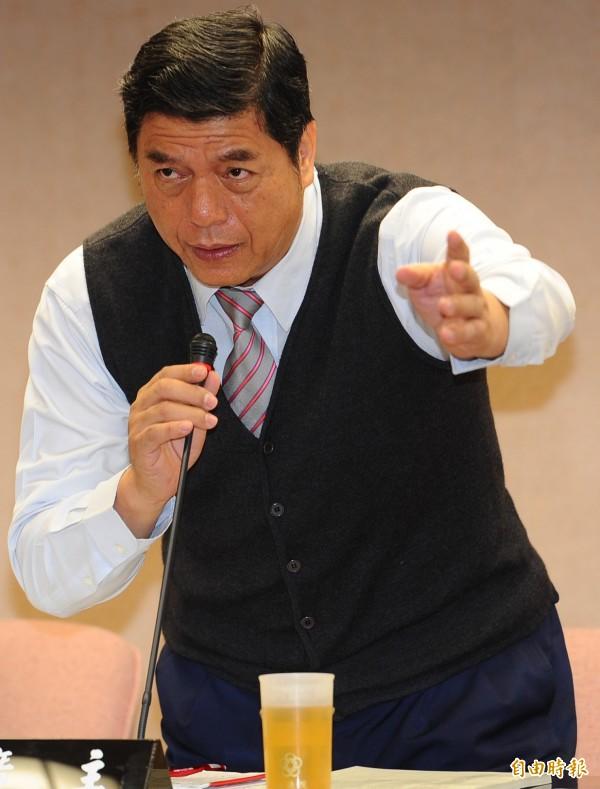張慶忠爭取回鍋內政委員會召委。(資料照,記者張嘉明攝)