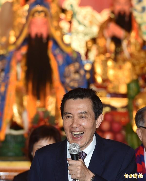 馬英九總統隔空呼應習進平看法,認為在九二共識一中各表的基礎上推動兩岸的和平發展,不但穩固兩岸關係,也穩固了台灣跟美國的關係。(資料照,記者廖振輝攝)