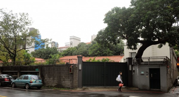 位於台北市金華街、麗水街口的閣揆官邸,鄰近永康街商圈,地理條件優良。(資料照,記者王敏為攝)