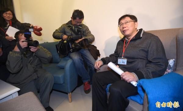 台北市長柯文哲昨表達希望續辦台北、上海的雙城論壇的想法。(資料照,記者劉信德攝)